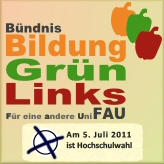 Buendnis Bildung|Gruen|Links FAU
